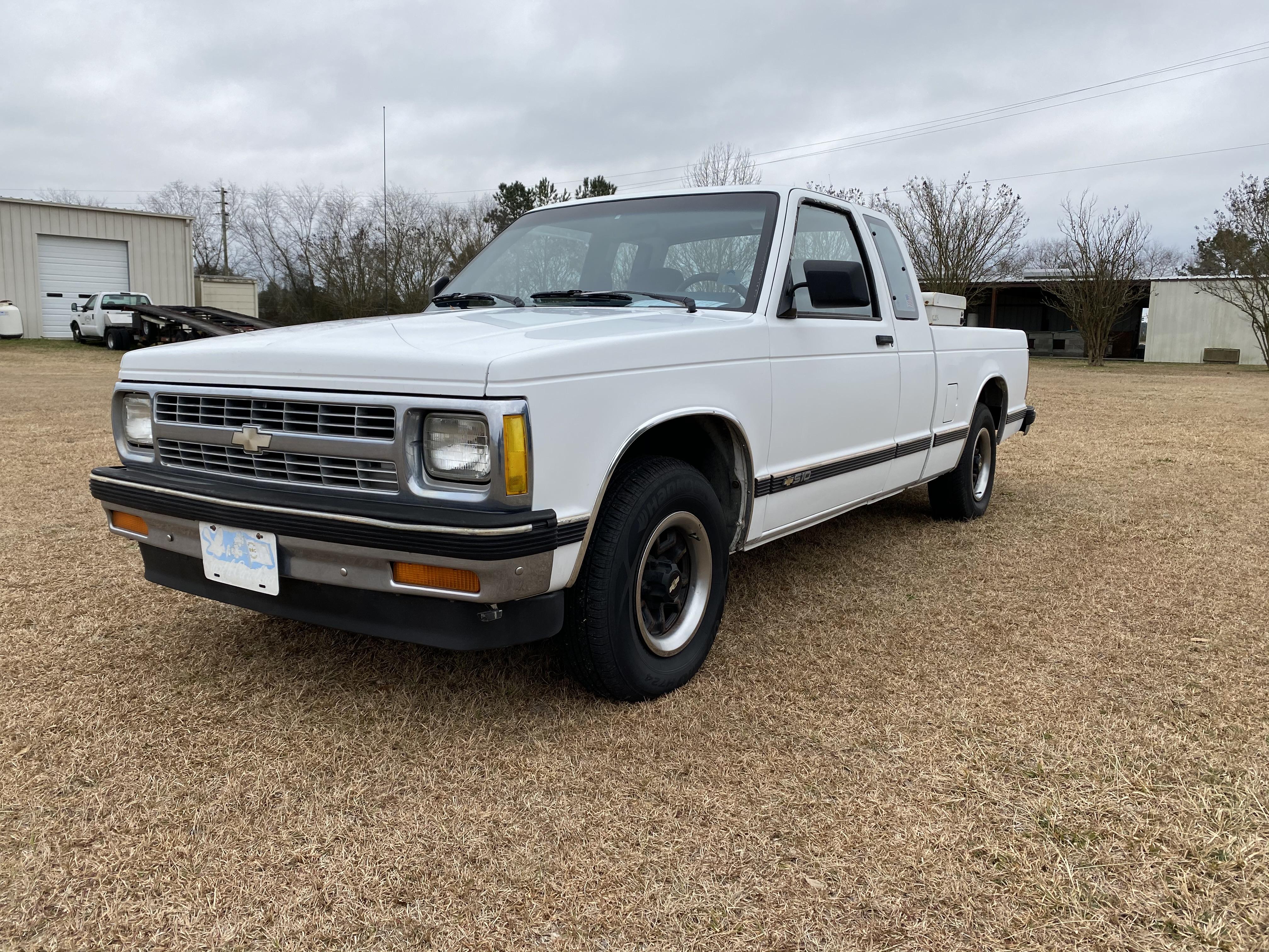 1992 Chevrolet S10 2wd